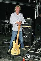 PHOTO © Stephen Daniels 16/09/2006<br /> The Jones Gang rehearsal for REASON 2 ROCK FESTIVAL, Hurtwood Park Polo Club, Ewhurst Green, Surrey. <br /> Rick Wills (Foreigner)