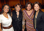 From left: Rachel Brown, Yvonne Stern, Debbie Festari and Ericka Bagwell at the Saks Fifth Avenue Fashion Show and Luncheon at the Nutcracker Market Thursday Nov. 12,2009. (Dave Rossman/For the Chronicle)