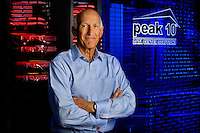David Jones is thePresident & Chief Executive Officer of Peak 10. Peak10 data centers offer cloud services, systems management, managed storage, data backup and restore, managed security...Photo by: PatrickSchneiderPhoto.com