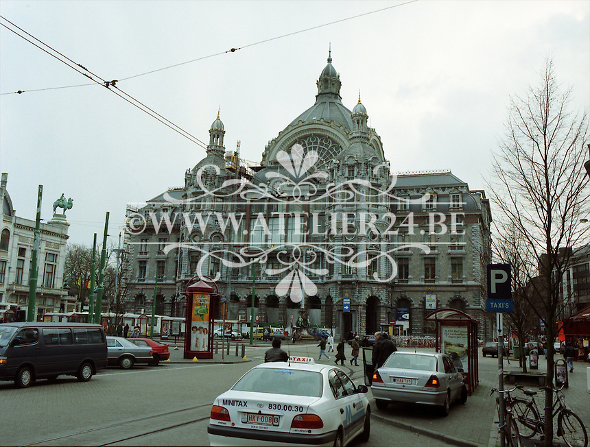 Februari 1999. Centraal Station Antwerpen.