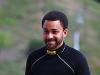 Jun 21, 2015; Bristol, TN, USA; NHRA top fuel driver J.R. Todd during the Thunder Valley Nationals at Bristol Dragway. Mandatory Credit: Mark J. Rebilas-