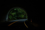 Coming thru the tunnel