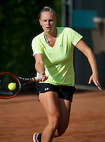 August 12, 2014, Netherlands, Raalte, TV Ramele, Tennis, National Championships, NRTK,  Mandy Wagemaker (NED)<br /> Photo: Tennisimages/Henk Koster