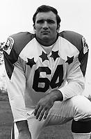 John LaGrone 1970 Canadian Football League Allstar team. Copyright photograph Ted Grant