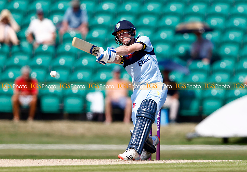Cameron Bancroft hits out for Durham during Kent Spitfires vs Durham, Royal London One-Day Cup Cricket at The Spitfire Ground on 22nd July 2021
