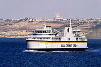 Gozo-Malta Ferry.