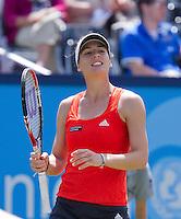 15-06-10, Tennis, Rosmalen, Unicef Open, Andrea Petkovic  Ana Ivanovic