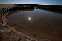Salzgewinnung, Schott el Djerid, Tunesien
