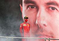 15th November 2020; Istanbul Park, Istanbul, Turkey; FIA Formula One World Championship 2020, Grand Prix of Turkey, Race Day;  5 Sebastian Vettel GER, Scuderia Ferrari Mission Winnow 3rd on the podium