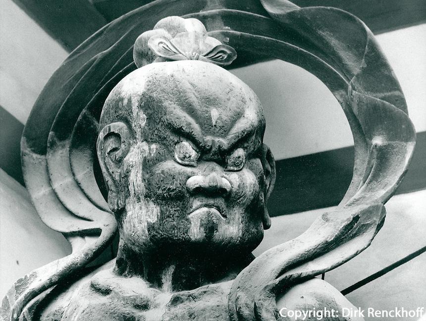 buddhistischer Tempelwächter, Japan