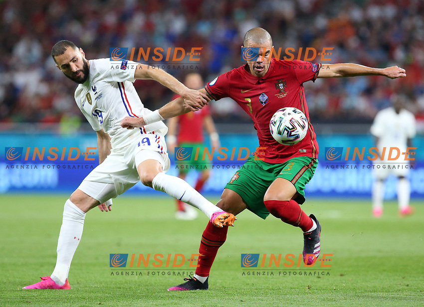 BUDAPEST, HUNGARY - JUNE 23:  during the UEFA Euro 2020 Championship Group F match between Portugal and France at Puskas Arena on June 23, 2021 in Budapest, Hungary. (Photo by Alex Livesey - UEFA/UEFA via Getty Images)<br /> Photo Uefa/Insidefoto ITA ONLY