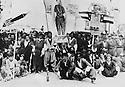 Iraq 1963.Youth union celebrating the revolution.Irak 1958.Celebration de la revolution avec l'union des Jeunes
