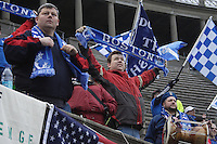 The Boston Breakers tied the Philadelphia Independence, 1-1, at Harvard Stadium on April 18.2010