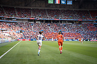 LYON, FRANCE - JULY 07: Carli Lloyd during a game between Netherlands and USWNT at Stade de Lyon on July 07, 2019 in Lyon, France.