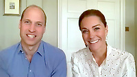Kate and William Video Calls to Thank Volunteers