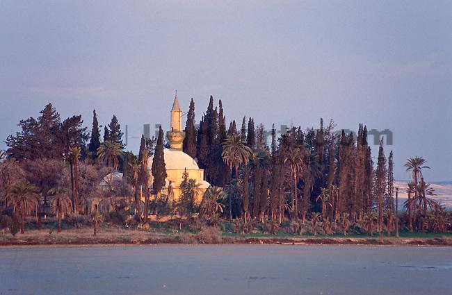 Hala Sultan Tekke Mosque, Moschee, Larnaca, Cyprus. Zypern