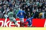 31.03.2019 Celtic v Rangers: Edouard scores for Celtic