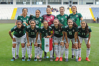 20190306 - LARNACA , CYPRUS : Team Mexico pictured during a women's soccer game between Czech Republic and Mexico , on Wednesday 6 March 2019  at the Antonis Papadopoulos Stadium in Larnaca , Cyprus . . This last game for both teams which decides for places 5 and 6 of the Cyprus Womens Cup 2019 , a prestigious women soccer tournament as a preparation on the Uefa Women's Euro 2021 qualification duels. PHOTO SPORTPIX.BE | STIJN AUDOOREN