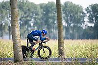 Samuele Bonetto (ITA)<br /> <br /> Junior Men Individual Time Trial from Knokke-Heist to Bruges (22.3 km)<br /> <br /> UCI Road World Championships - Flanders Belgium 2021<br /> <br /> ©kramon