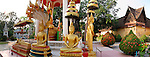 Panoramic View of Wat Sisaket, Vientiane, Laos
