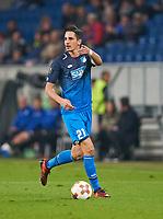 Benjamin HUEBNER, Hoff 21 <br /> TSG 1899 HOFFENHEIM - ISTANBUL Basaksehir  3-0<br /> Gruppe C, Football UEFA Europa League, Hoffenheim, 19.10.2017<br /> EL Saison 2017/2018<br /> <br />  *** Local Caption *** © pixathlon +++ tel. +49 - (040) - 22 63 02 60 - mail: info@pixathlon.de
