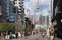 Nederland Den Haag -  maart 2021.  De Grote Marktstraat in Den Haag.    Foto ANP / Hollandse Hoogte /  Berlinda van Dam
