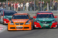 Brands Hatch Race Circuit, West Kingsdown.<br /> First round of the 2007 British Touring Car Championship.<br /> The racing was close.<br /> Byline - Picture by Peter Still