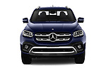 Car photography straight front view of a 2018 Mercedes Benz X Class Power 4 Door Pick Up