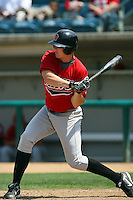July 16 2008: Ronnie Prettyman of the High Desert Mavericks during game against the Rancho Cucamonga Quakes at The Epicenter in Rancho Cucamonga,CA.  Photo by Larry Goren/Four Seam Images