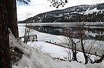 Donner Lake & Pass in winter