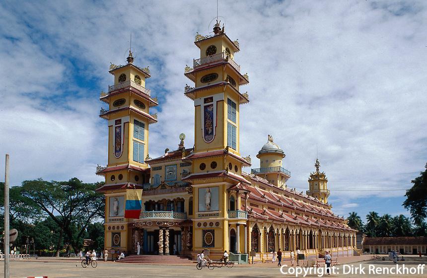 Cao Dai-Kathedrale, Tay Ninh, Vietnam