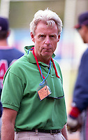 Peter Gammons at Boston Red Sox Spring Training in 1993.  (MJA/Four Seam Images)