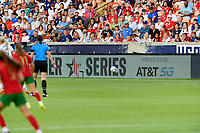 HOUSTON, TX - JUNE 10: Sponsor Photo before a game between Portugal and USWNT at BBVA Stadium on June 10, 2021 in Houston, Texas.