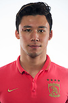 Zhang Linpeng of Guangzhou Evergrande poses during the portrait session prior to Gamba Osaka vs Guangzhou Evergrande during the 2015 AFC Champions League Semi Final 2nd Leg on October 20, 2015 at the Expo'70 Stadium in Osaka, Japan. Photo by Aitor Alcalde / World Sport Group