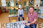 Conor Gleeson Principal and Donal Hickey Chairman of The Board of Management in Tiernaboul NS Spa Killarney are preparing the school for the return of pupils in September