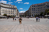 Aristotelous Aristotle Square. Thessaloniki, Macedonia, Greece
