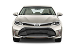 Car photography straight front view of a 2018 Toyota Avalon XLE 4 Door Sedan Front View