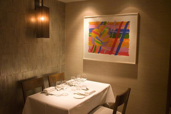 Interior, La Trompete Restaurant, London, England