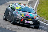 Race of Germany Nürburgring Nordschleife 2016 Free Training 1 ETCC 2016 #181 RAVENOL Motorsport Ford Fiesta Niklas Mackschin (DEU) © 2016 Musson/PSP. All Rights Reserved.