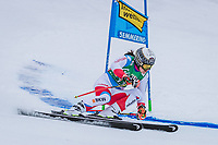28th December 2020; Semmering, Austria; FIS Womens Giant Slalom World Cu Skiing; Wendy Holdener of Switzerland in action during her 1st run of women Giant Slalom of FIS ski alpine world cup at the Panoramapiste in Semmering