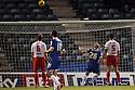 Adam Barrett of Gillingham shoots over in front of an open goal<br />  - Gillingham v Stevenage - Sky Bet League One - Priestfield, Gillingham - 26th November 2013. <br /> © Kevin Coleman 2013