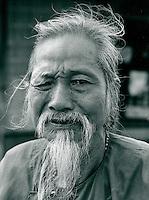 Alter Mann, Vietnam 1991