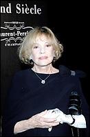 JEANNE MOREAU @ Remise du Prix Grand Siecle Laurent-Perrier 2006 a CLAUDE CHABROL. #