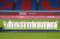USWNT during the 2020 Tokyo Olympics Women's Soccer medal ceremony