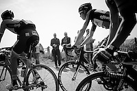 race leaders up the Camerig climb<br /> <br /> 50th Amstel Gold Race 2015