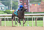 08182021: #9 Monshun ridden by Joel Rosario trained by R. Handal wins the 3rd race Maiden fillies 2 yr old at Saratoga Race Course<br /> Robert Simmons/Eclipse Sportswire
