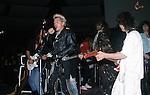 Ritchie Sambora, Billy Idol, Eddie Van Halen, TM Stevens, Phil Soussan at NAMM 1987.