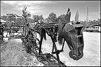 A Sant'Arcangelo di Romagna, (Rimini), è sorta neglii anni '90 la comunità dei Mutoidi. <br /> Mutonia è la loro città, le case sono  corriere dismesse, carri, camper.<br /> Circa 30 persone che vivono costruendo robot, sculture mobili, arredamenti punk,