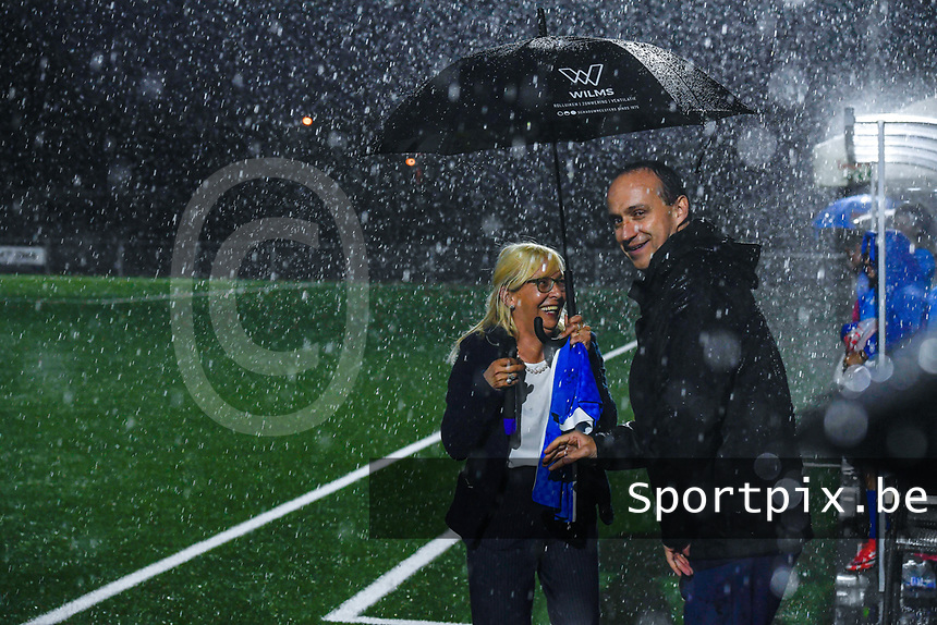 illustration picture before a female soccer game between  Racing Genk Ladies and Sporting du pays de Charleroi on the fourth matchday of the 2021-2022 season of the Belgian Scooore Womens Super League , friday 10 September 2021  in Genk , Belgium . PHOTO SPORTPIX | STIJN AUDOOREN