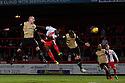 Lucas Akins of Stevenage scores their second goal<br />  - Stevenage v Leyton Orient - Johnstone's Paint Trophy - Southern Section Quarter-final  - Lamex Stadium, Stevenage - 12th November, 2013<br />  © Kevin Coleman 2013